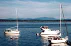 Boating on Lake Champlain