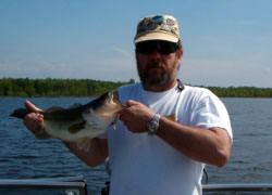 Fishing on Lake Champlain - Large Mouth Bass